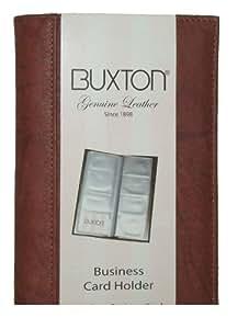 Amazon Buxton Business Card Holder Mahogany