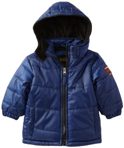 Ixtreme Baby-Boys Infant Ripstop Puffer Hooded Winter Jacket Coat 24M Blue front-781758