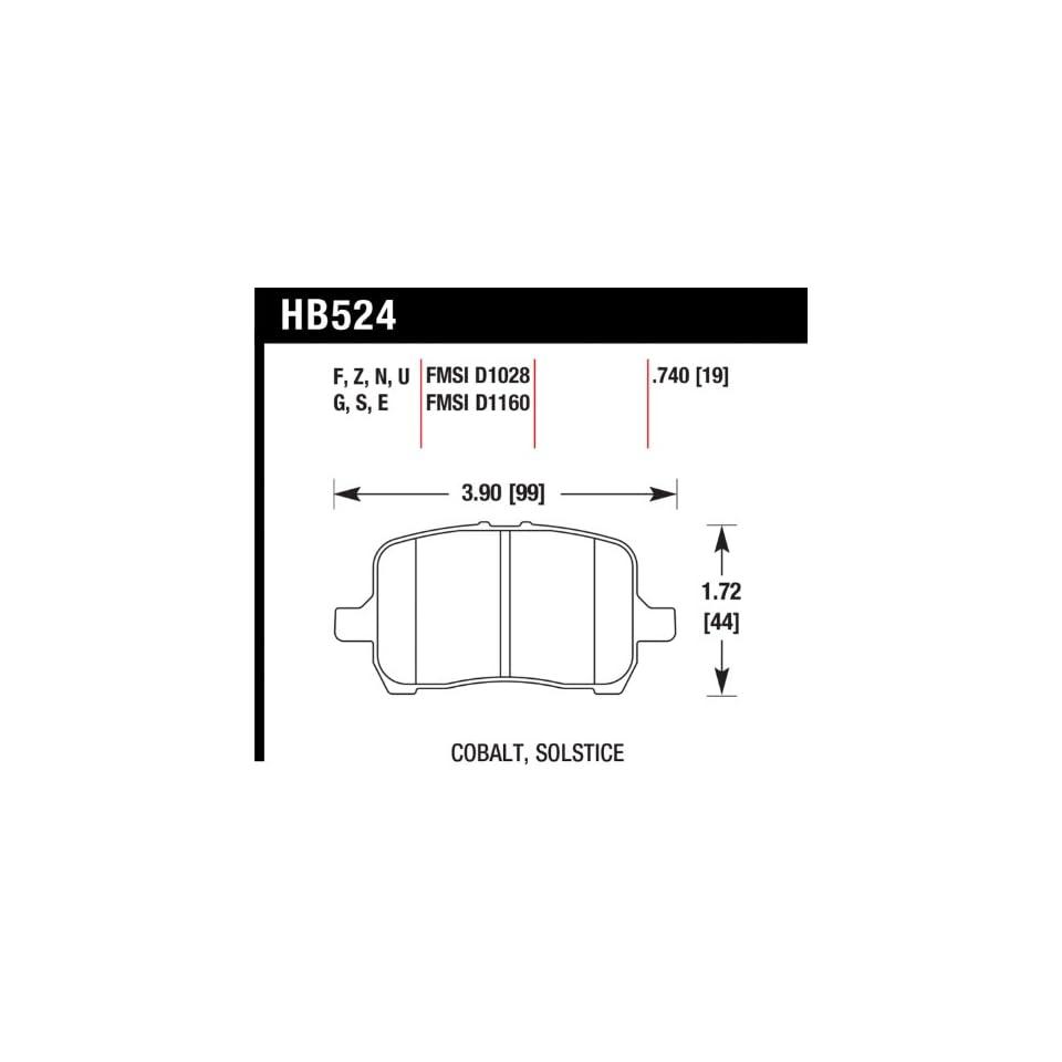 Hawk Performance HMC5001 Brake Pad