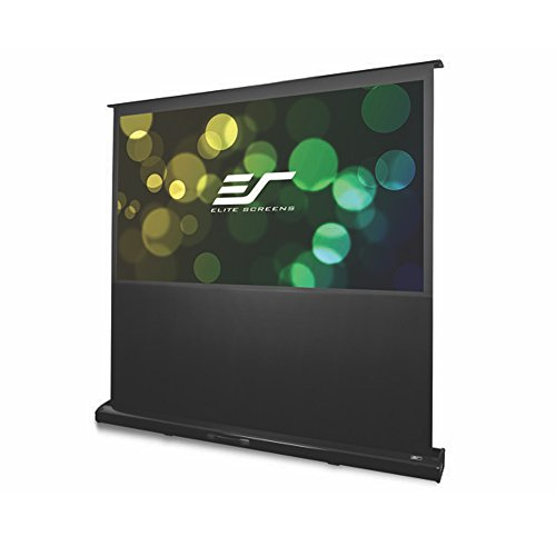"Elite Screens 100""Diagonal, Kestrel Series Electric Floor Rising Projection Screen (100"",4:3)"