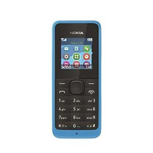 Nokia 105 Sim-Free Smartphone - Blue