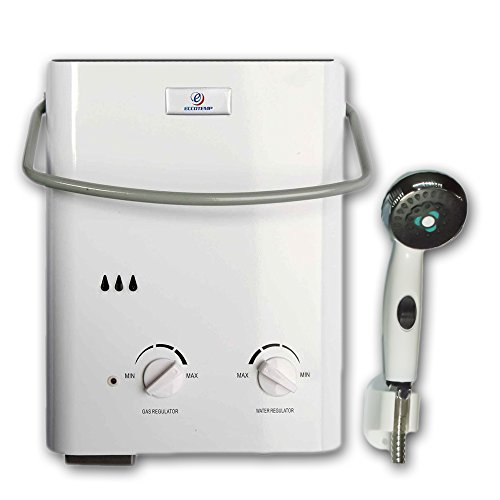 Eccotemp L5 Portable Tankless Water Heater and Outdoor Shower (Instant Hot Water Heater For Rv compare prices)