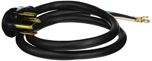 General Electric WX09X10018 4 Wire 30amp Dryer Cord, 4-Feet (Dryer Cord 4 Wire compare prices)