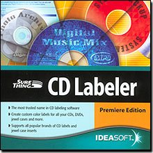 Ideasoft Surething CD Labeler