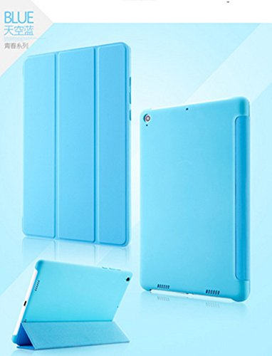 "Case Trendz Tri Fold Slim PU leather Flip case cover with Sleep Wake Function for Xiaomi Mi Pad 7.9"" Tablet by Case Trendz- Blue"
