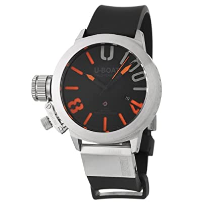 U-Boat Limited Edition Classico U-1001-47 Men's Automatic Watch 47-U-1001-O at Amazon Men's Watch store.