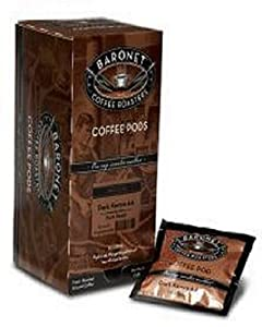 Baronet Nutty Coffee Pod Variety Pack-90 Flavored Coffee Pods Total