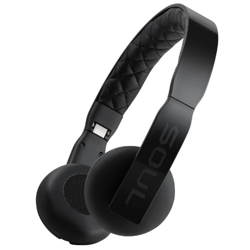 Soul Loop Ultra Lightweight On-Ear Headphones (Black)