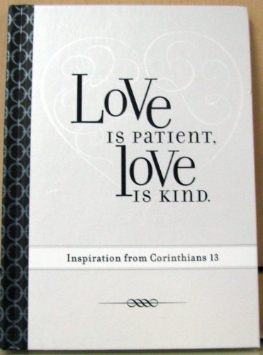 Hallmark BOK4148 Love is patient, Love is kind ~ Inspiration from Corinthians 13