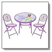 disney table set for girls