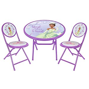 Disney Princess And The Frog Round Table And Chair Set Toys Am