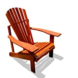 VIFAH V506 Outdoor Wood Adriondack Chair, Natural Wood Finish, 30 by 35 by 35-Inch (Discontinued by Manufacturer... at Sears.com