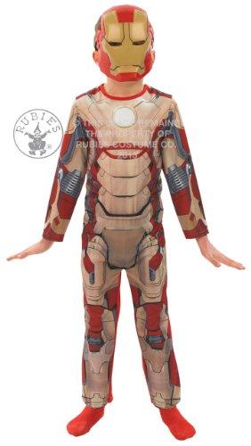 Deluxe für Kinder, Iron Man Maske Faschingskostüm & 3-4 Jahre Marvel Kostüm