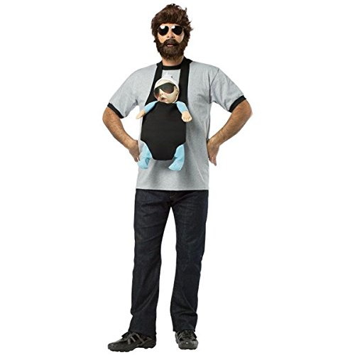 [GSG Alan Costume Adult Mens The Hangover Funny Halloween Fancy Dress] (Cabaret Costumes For Men)