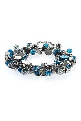 Assorted Beads Cluster Bracelet