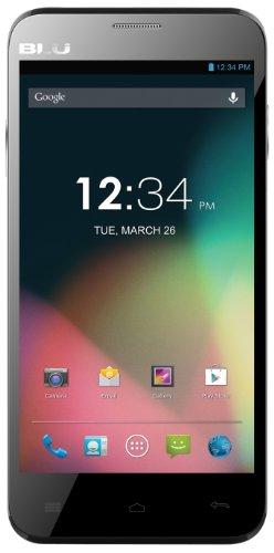 Blu Dash 5.0 D410A Unlocked Dual Sim Gsm Phone (Black)