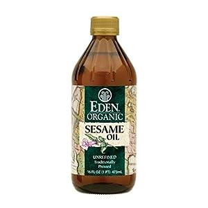 Eden Foods Organic Sesame Oil, 16 Ounce