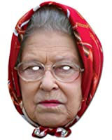 Mask-Arade The Queen Headscarf Royal Mask