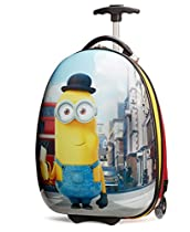 Travelpro Minions Kid's Hard Side Luggage, Red/Yellow, One Size
