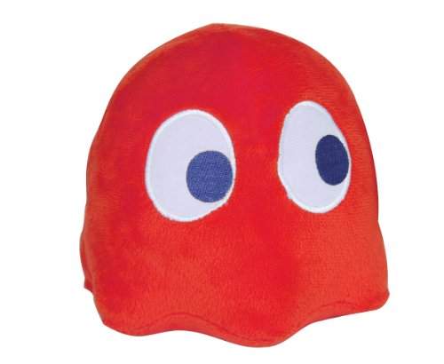 Paladone - Peluche Pacman - Fantôme Sonore Rosso (Rouge )- 5032331031441