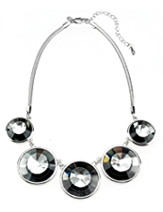 M&S Collection Disco Round Collar Necklace