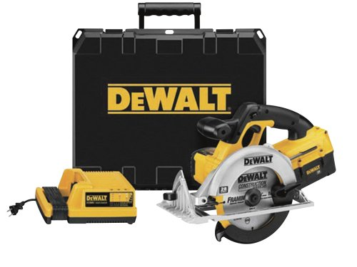 DEWALT DC310K 28-Volt 6-1/2-Inch Lithium-Ion Cordless Circular Saw with NANO Technology