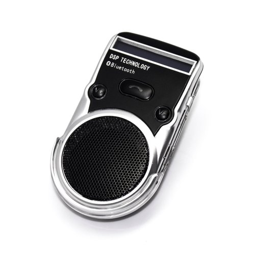 Tbs3153® Solar Bluetooth Hands-Free Car Kit Wireless Bluetooth Car Speakerphone Built-In Speaker And Microphone Dsp Technology Superior Echo Cancellation And Noise Reduction