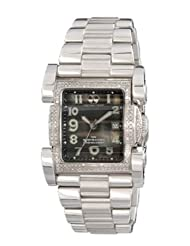 Reactor Ion Diamond Mid Sized/Women's Black Pearl/Stainless Dive Watch