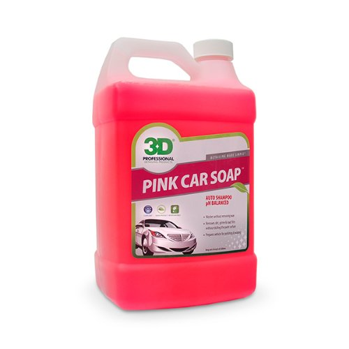 Pink Car Soap 1 Gallon