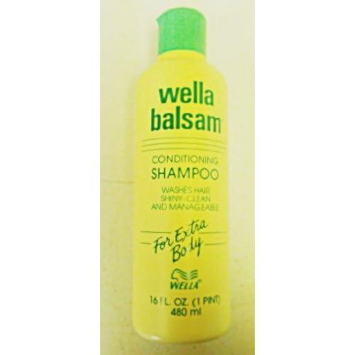 Amazon.com : Wella Balsam Conditioning Shampoo For Extra Body 16 Oz