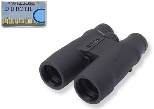 Carson 10x42mm Hunters Binocular For Bird Watching (100% Waterproof and Fogproof) Bonus Cleaning Cloth Included