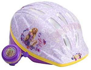 Disney Princess Girls Rapunzel Toddler Microshell Helmet