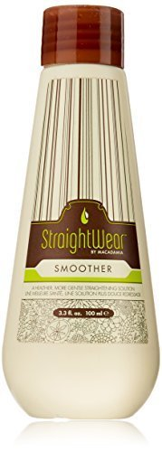 Macadamia Natural Oil Straightwear Smoother Straightening Solution Oil for Unisex, 3.3 Ounce by Macadamia