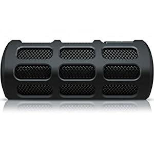 Philips SB7200/12 - Altavoz portátil inalámbrico con Bluetooth (A2DP,AVRCP, HFP,HSP), 2 x 4 W, 50/60 Hz, color negro
