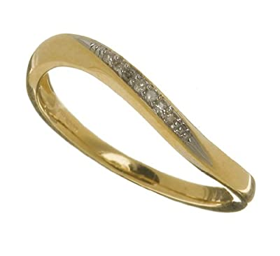 Ariel Ladies 9ct Yellow Gold Diamond Eternity Ring