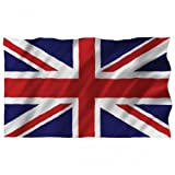 Large Union Flag 1.5m X 90cm (5 X 3ft) Great Britain Uk English Union Jack Flag. Ideal for Pub, Bar, British Theme, Patriotic, Party, Soccer Etc
