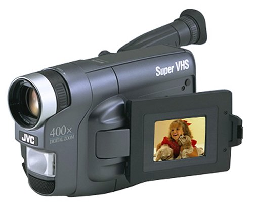 Jvc Gr-Sxm320U Palm Size Compact Super Vhs Camcorder With Lcd Monitor