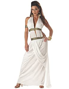 California Costumes Women's Spartan Queen,White,Small Costume