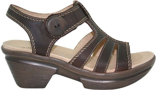 Sanita 443689 Women's Sangria Ninka Sandal Brown 36 M EU (Women's 5.5-6 US)