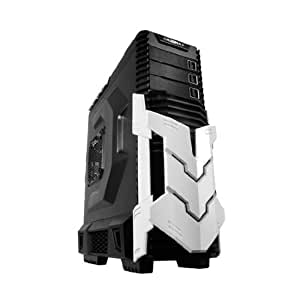 Raidmax AGUSTA No Power Supply ATX Mid Tower Case (Black/White) ATX-605BW