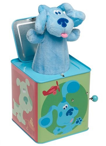 Blues Clues Toys – Blues Clues Jack-in-the-Box | Blues ...