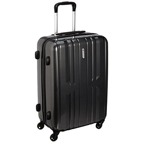 [ワールド トラベラー] World Traveler アマゾン限定 ACEコラボ特別企画 ペンタクォーク ストッパー付スーツケース59cm・3.5kg・60リットル・TSAロック搭載・預け入れサイズ 05662 02 (ブラックカーボン)
