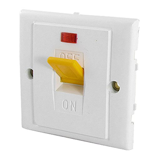 Ac 250V 40A Neon Indicator On/Off Wall Mounted Cooker Switch