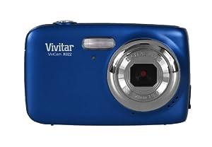 Vivitar VX022-BLU 10.1 MP Digital Camera with 1.8-Inch LCD (Blue)