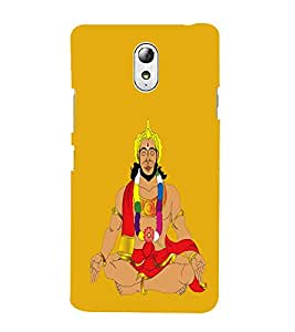 iFasho Lord Hanuman Back Case Cover for Lenovo Vibe P1M