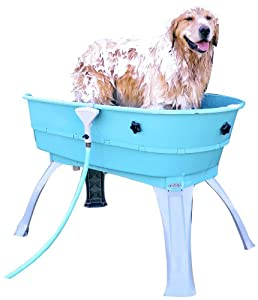Amazon Com Booster Bath 3040 Blue Large Dog Wash Pet