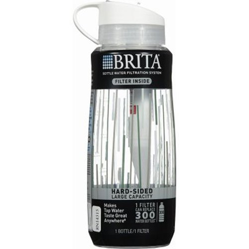 how to clean brita water bottle straw
