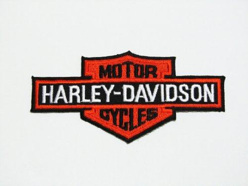Harley Davidson Brand of Motor Bike Logo Iron on Patch Great Gift for Men and Women/ramakian