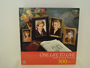 One Life To Live Soap Opera Puzzle/300 Fully Interlocking Pieces