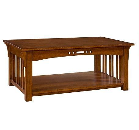 Buy Low Price Artisan Ridge Rectangular Coffee Table Broyhill 4078 001 4078 001 Coffee